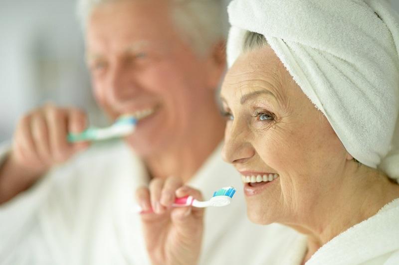 Les dents abîmées par l'âge