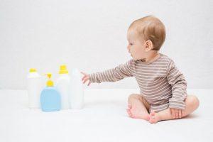 prendre soin de la peau de bebe