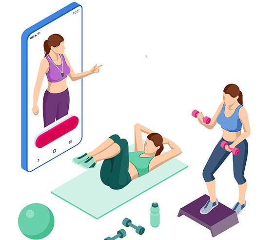 5 bonnes raisons d'utiliser une application fitness